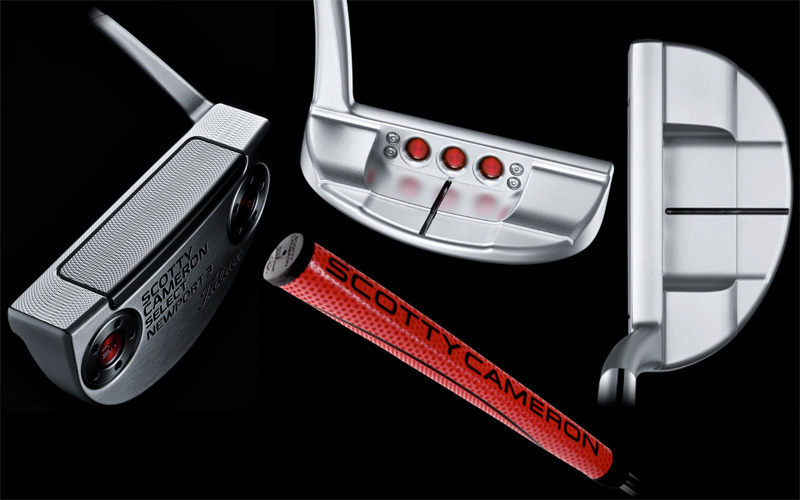 Scotty Cameron, putters 2017, Select Newport 3