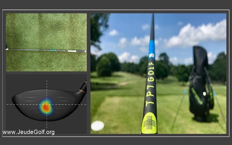 La révolution TPT en matière de manche pour driver de golf