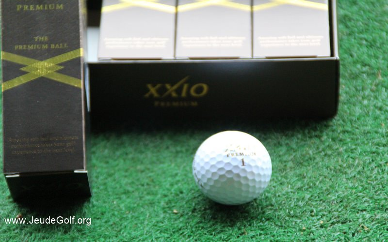 Test des balles de golf XXIO Prime Royal Gold