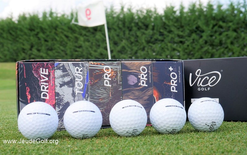 Balles de golf VICE: Jusqu'au bout du concept marketing?