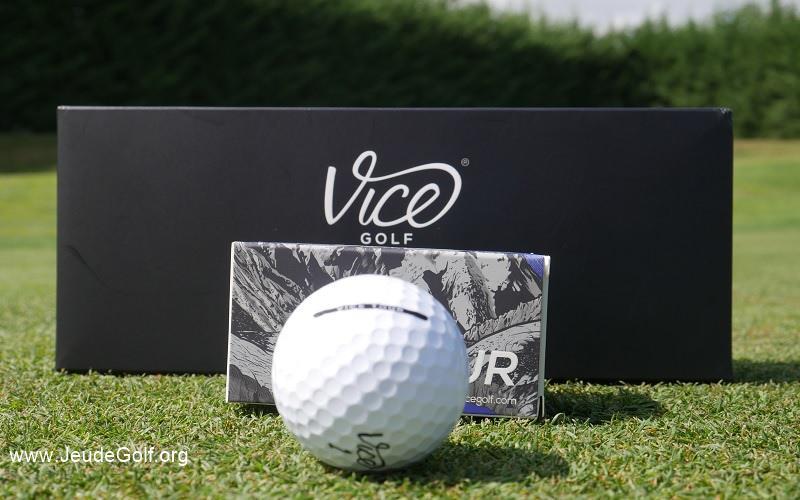 Test balles de golf VICE TOUR