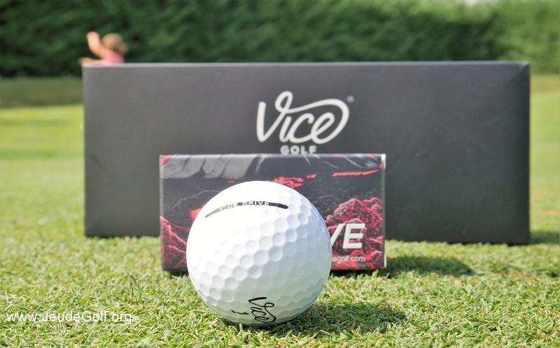 Test balles de golf VICE DRIVE