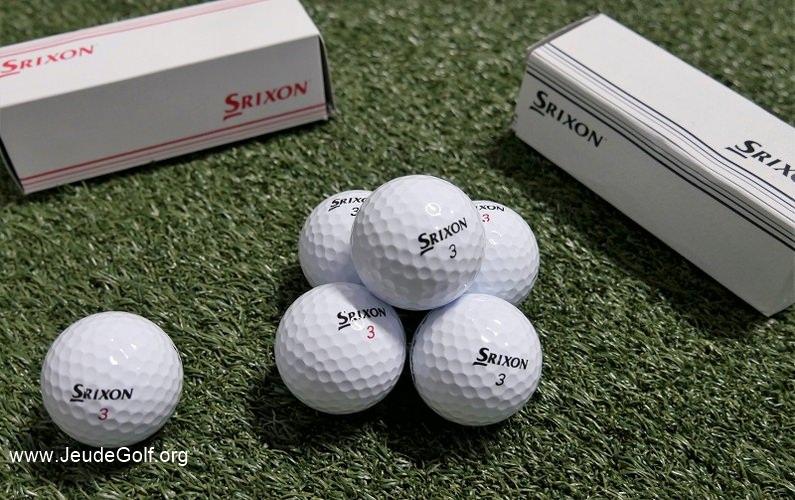 Test des balles Srixon Z-Star et Z-Star XV 2019