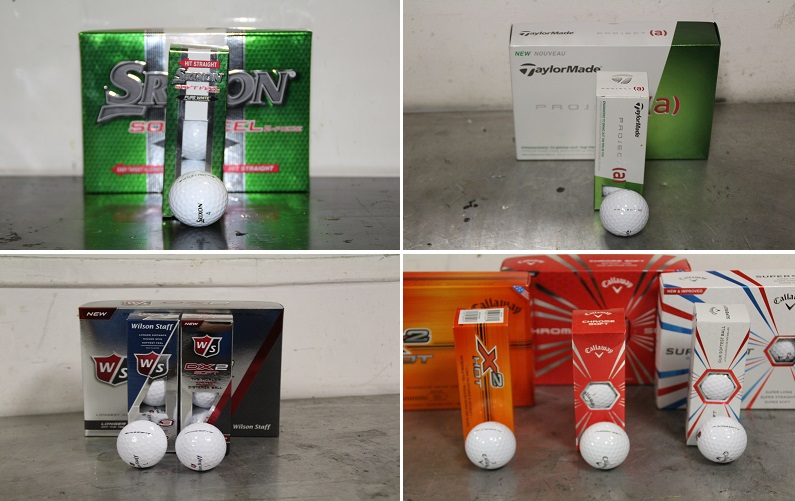 Test des balles de golf dites SOFT Feel