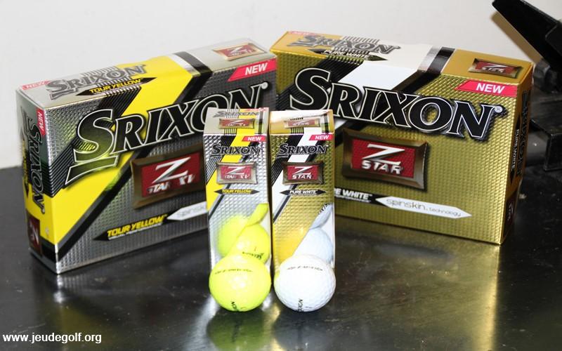 Test comparatif balles Srixon Z-Star vs Z-Star XV
