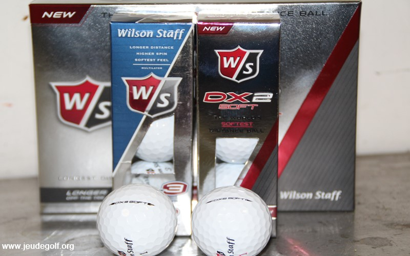 Test comparatif balles Wilson DX2 vs DX3 Soft