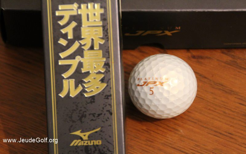 Test balles Mizuno JPX Platinum