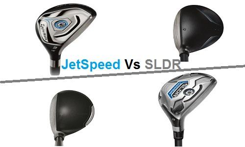 Match comparatif entre Hybrides TaylorMade SLDR et Jetspeed