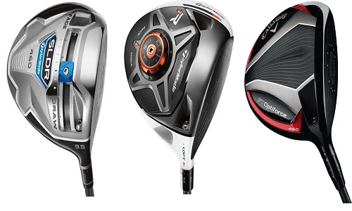 Test du driver Taylormade SLDR comparé au R1 et à l'Optiforce