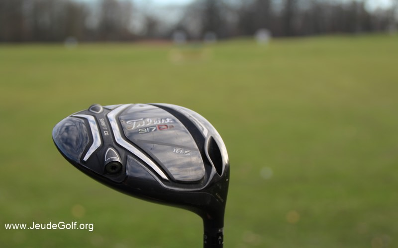 Test Driver Titleist 917 D2