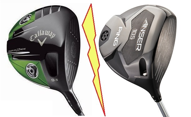 Test drivers Ping ANSER et Callaway RAZR FIT XTREME