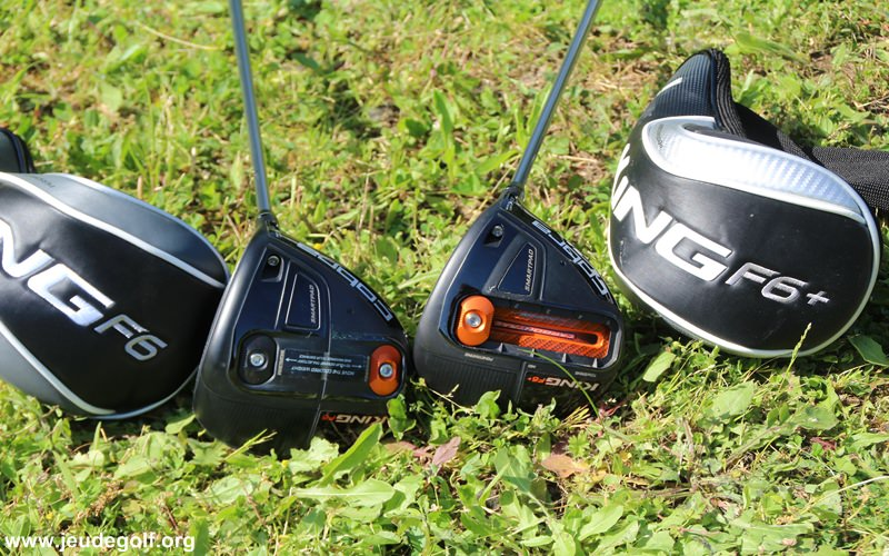 Test drivers Cobra King F6 et King F6+