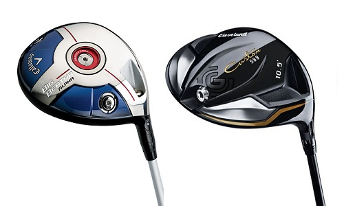Comparatif drivers Cleveland 588 Custom vs Callaway Big Bertha Alpha