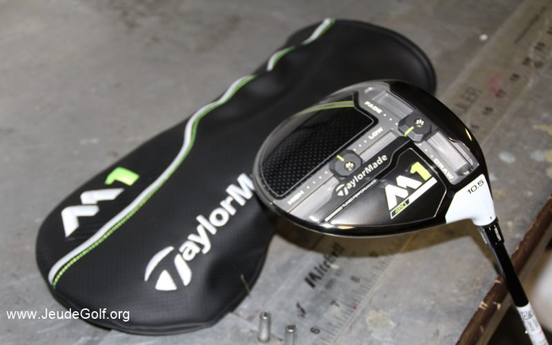 Test driver TaylorMade M1 460 cc