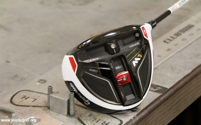 Test driver TaylorMade M1
