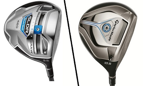 Test comparatif drivers TaylorMade SLDR vs JetSpeed