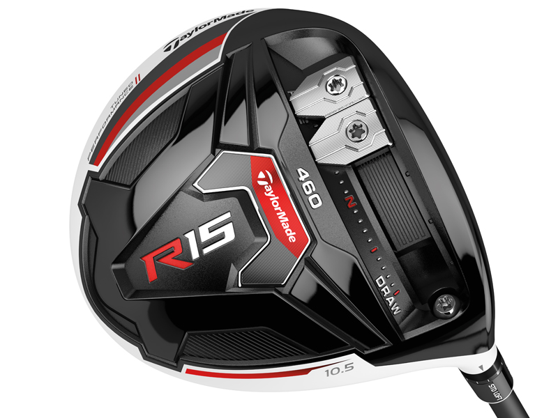 Test driver TaylorMade R15