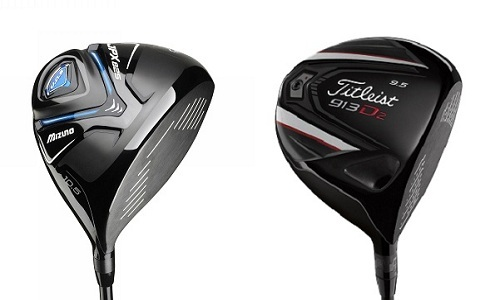 Test comparatif drivers MIZUNO JPX 825 vs TITLEIST 913 D2