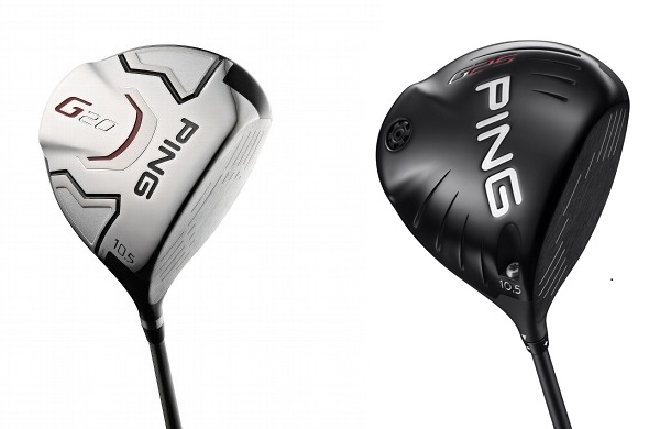 Test comparatif drivers PING G20 et G25