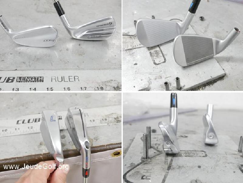 Test comparatif fers PING i500 vs TaylorMade P790
