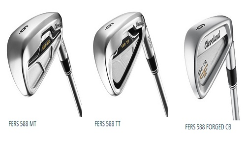 Test fers Cleveland 588 Forged CB, 588TT et 588MT