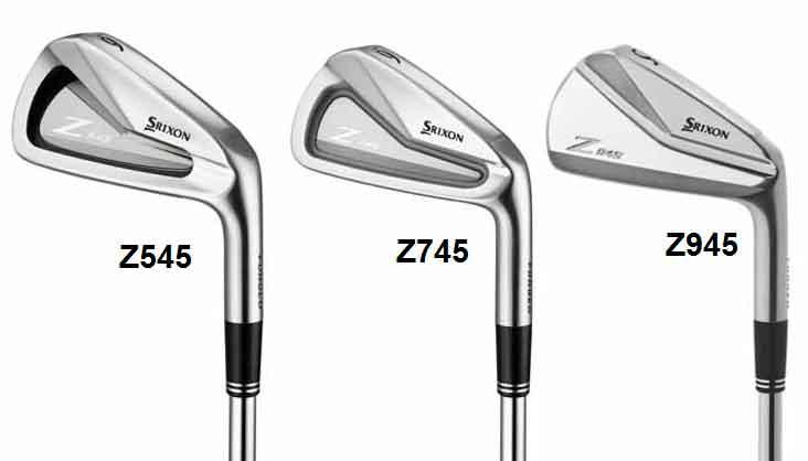 Essai des nouveaux fers SRIXON Z545, Z745, et Z945