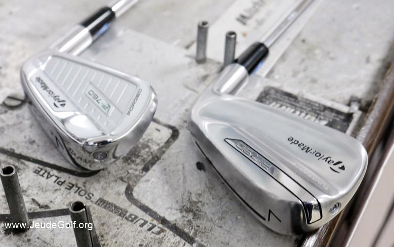 Test comparatif fers TaylorMade P760 vs P790