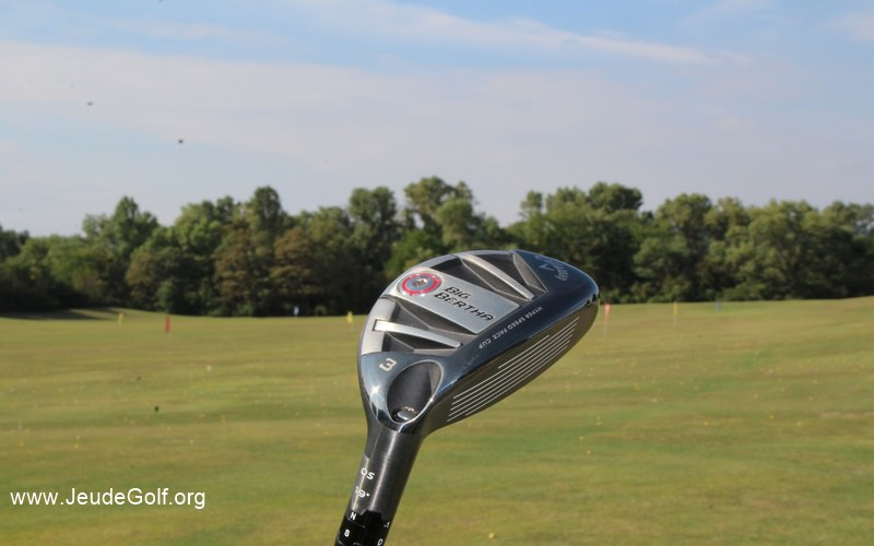Test hybride Callaway Big Bertha OS