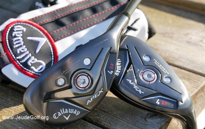 Test hybrides Callaway Apex 19 (stiff et regular)