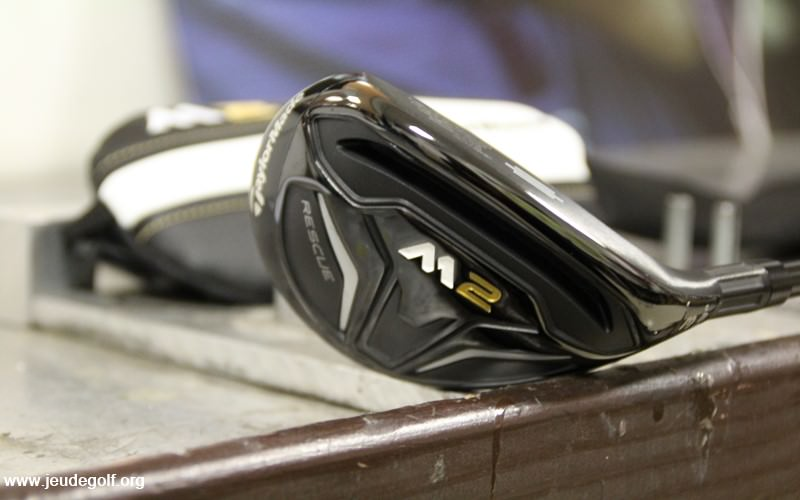 Test hybride TaylorMade M2