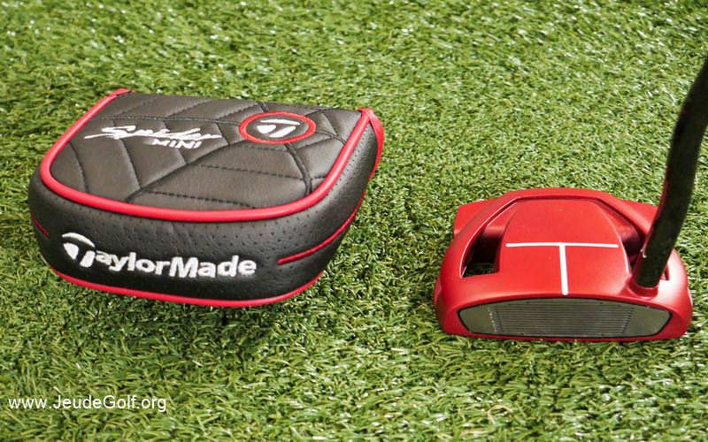 Test putter TaylorMade Mini-Putter