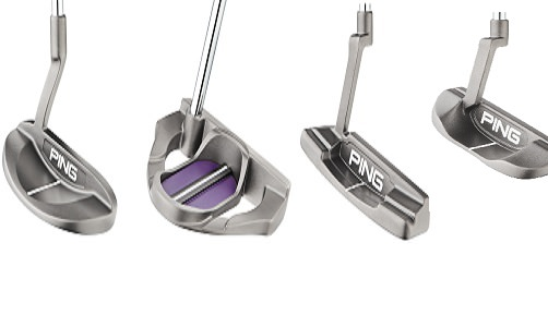 Tests putters PING LADY SERENE