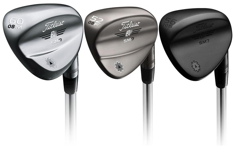 Wedges Titleist Vokey SM7: Un centre de gravité plus progressif?