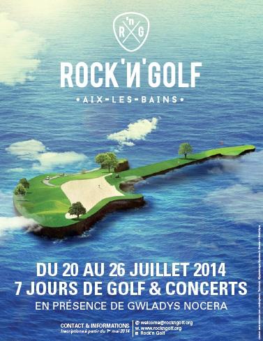 Rock'N'Golf : une semaine pour swinguer à Aix-les-Bains