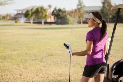 Rencontrer des golfeuses pour jouer sur le parcours