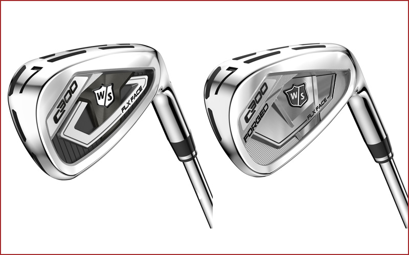 Fers Wilson Staff C300 et C300 Forged