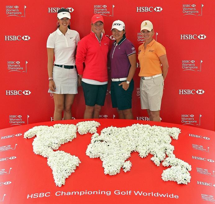 Le meilleur champ de joueuses pour le HSBC Women's Champions 2012