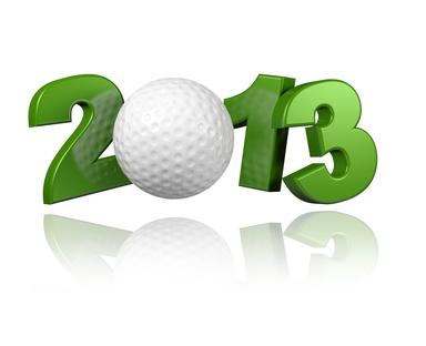 2013 : Année golf !