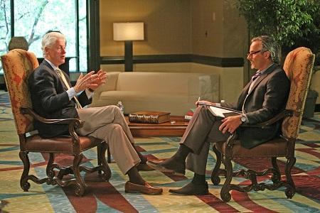 David Feherty en interview avec Bill Clinton