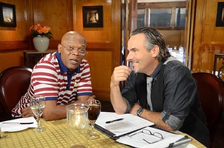 Feherty avec Samuel L. Jackson, un autre américain célèbre, fan de golf