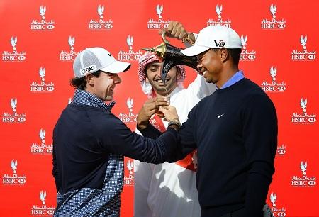 McIlroy et Woods, face à face à Abu Dhabi