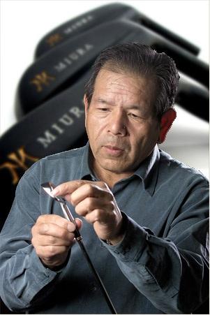 Katsuhiro Miura, le père des clubs de golf Miura