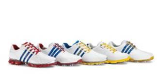 Les chaussures aux trois bandes de la Ryder Cup 2012