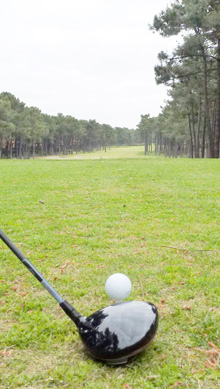 Départ du trou n°2 au golf d'Aroeira2