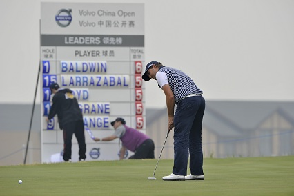 Volvo China Open 2012 : Matthew Baldwin en tête du 1er tour