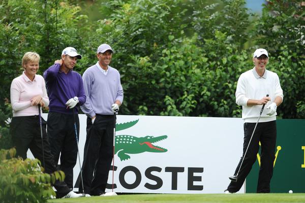 Laurent Blanc se remettra-t-il au golf après la fin de l'EURO 2012 en compagnie d'Alain Boghossian et Guy Forget
