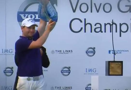Mais qui est Branden Grace, golfeur sud-africain sur le tour européen?