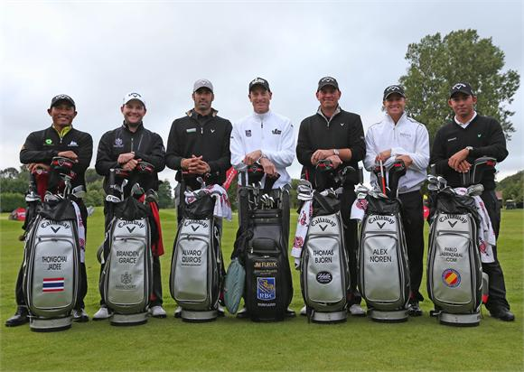Les stars du team Callaway Golf au British Open 2012