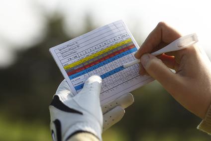 Remplir sa première carte de score au golf