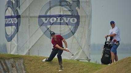 Colsaerts en mode récupération au 1er tour du Volvo China Open 2012